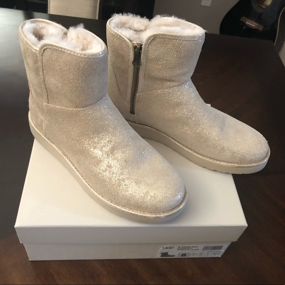 48bd530c4 UGG Shoes | New W Size 8 Abree Mini Stardust Uug Boots | Poshmark